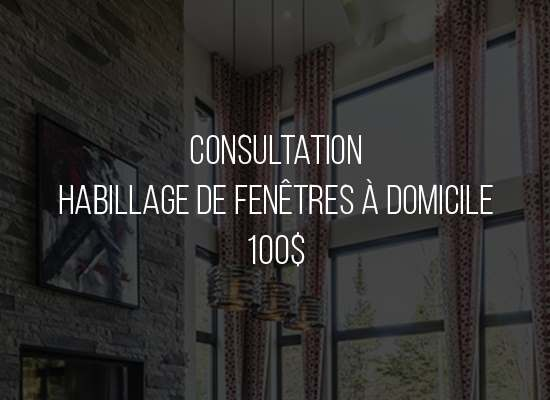 Consultation décoration déco habillage de fenêtre designer decoratrice a domicile visite a domicile