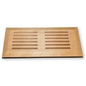 Grilles de ventilation en bois