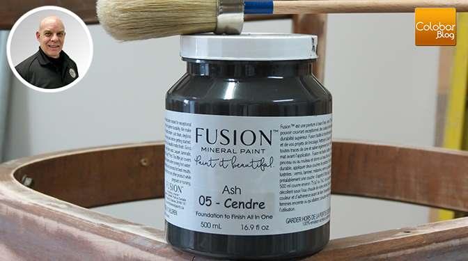 Comment peindre un meuble avec la peinture minérale Fusion