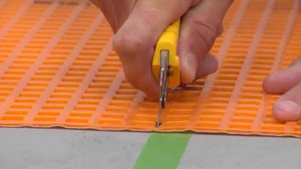 Membrane Ditra de Schluter : pour plancher de céramique