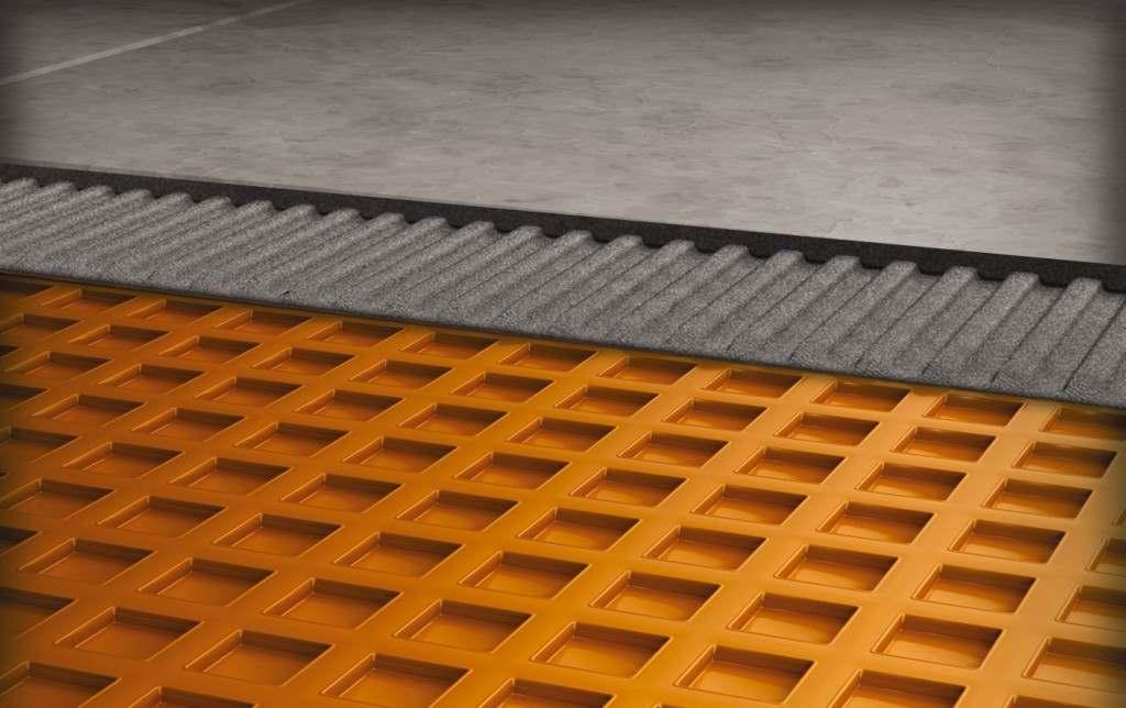 Membrane Ditra De Schluter Pour Plancher De C 233 Ramique
