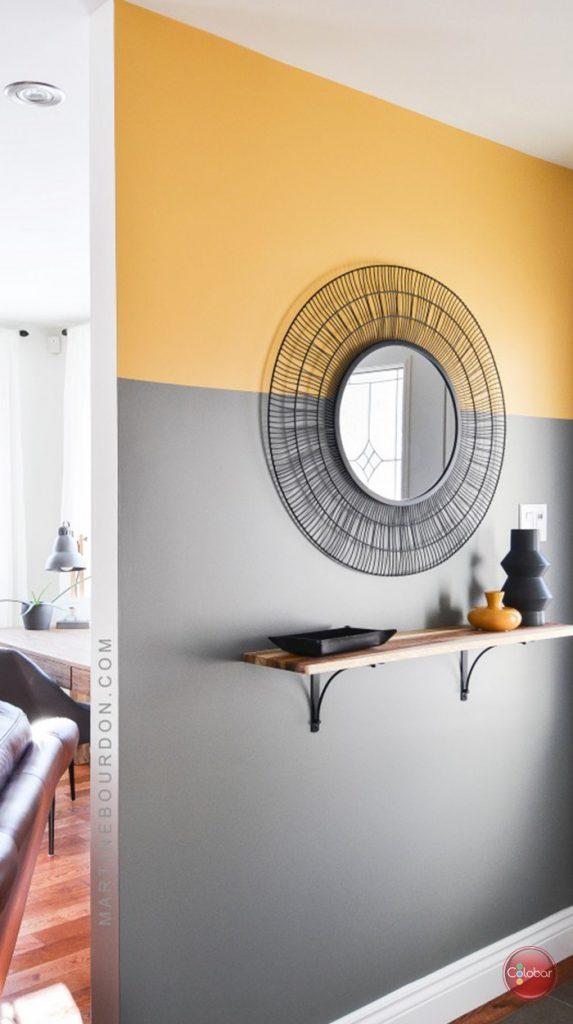 Couleur Peinture Pour Bureau Professionnel murs blancs, couleur en accent! - blog de colobar peinture