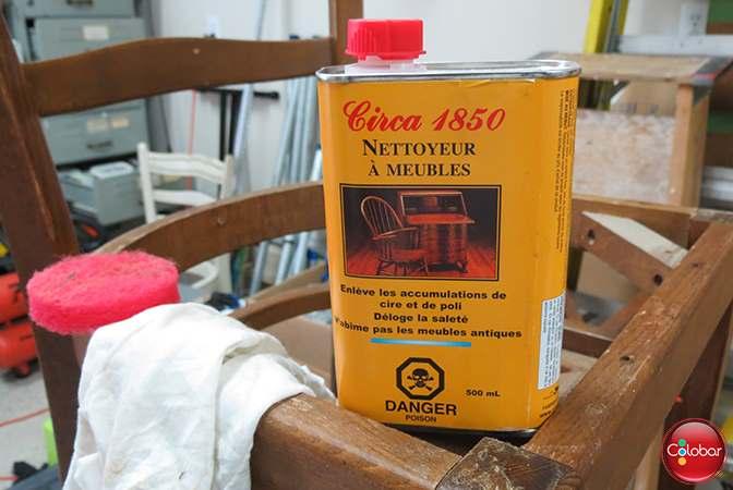 La première étape : nettoyer un meuble avant de la peinturer
