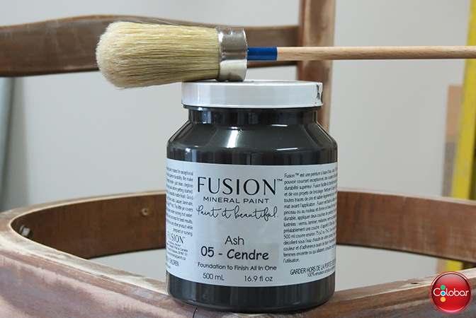 Peinture mineral Fusion pour meubles couleur Cendre