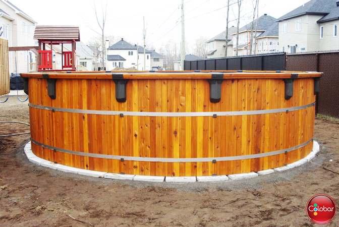 Piscine en bois quels sont les meilleurs protecteurs et - Fabriquer une piscine en bois ...