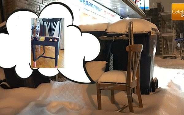 Le Fabuleux Destin De La Petite Chaise Qui Esprait Une 2e Chance