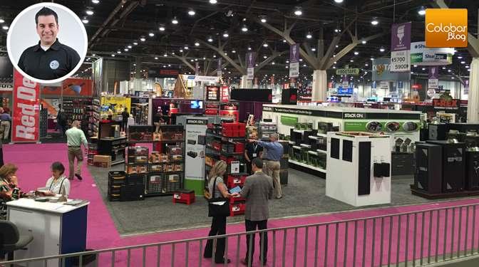 Colobar au National Hardware Show de Las Vegas