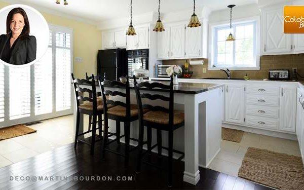 Peinturer des armoires de cuisine : voyez comme c'est beau!