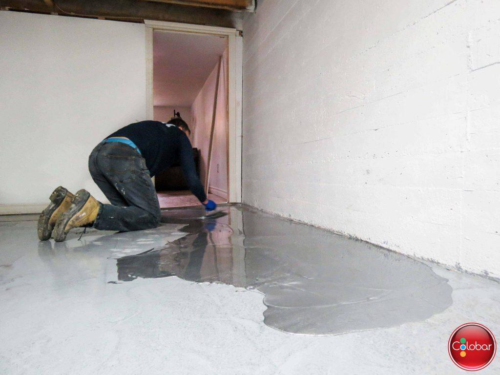 Enduit Epoxy Salle De Bain ~ comment faire un plancher d poxy m tallis colobar