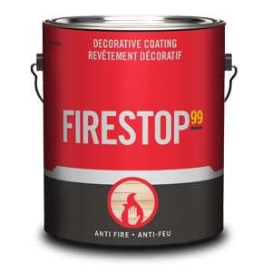 Vernis ignifuge firestop99 de Sansin