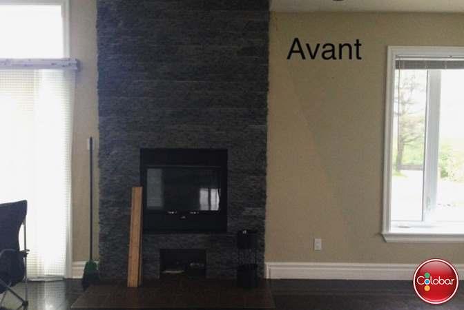 Le Foyer Salon : Changement de style pour le manteau foyer
