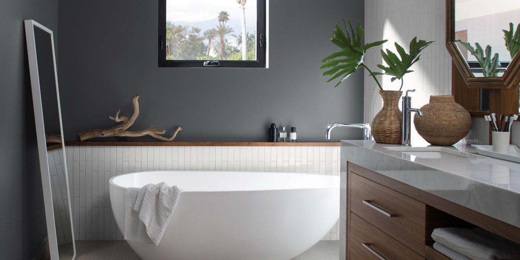 Comment choisir une peinture pour salle de bain blog de - Peinture anti humidite pour salle de bain ...