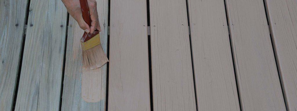 Une teinture opaque pour patio qui n'écaille pas, ça existe?