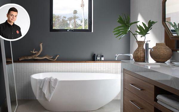 Panneaux lamstone translucide colobar peinture d coration for Elle deco salle de bain