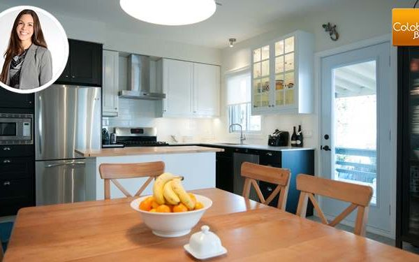 Image d'accueil Cuisine au style contemporain par Anni-Claude Boilard, Designer chez Colobar