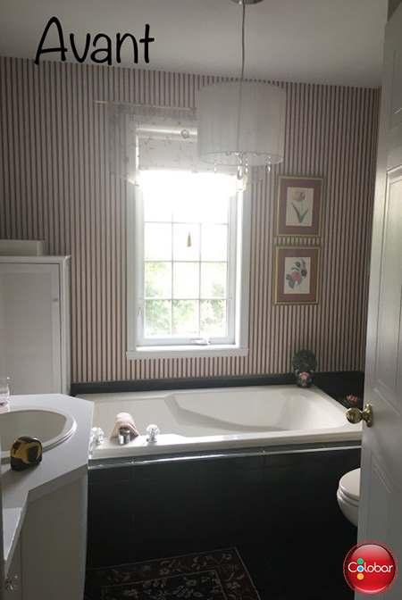Salle de bain classique chic - Blog de Colobar Peinture & Décoration