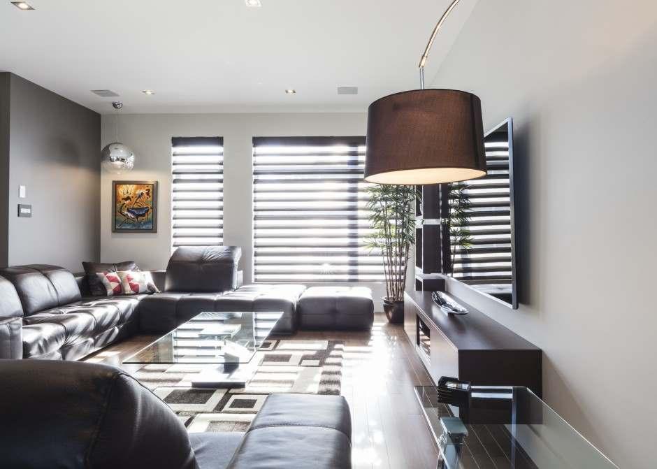 store pirouette pour un salon moderne colobar. Black Bedroom Furniture Sets. Home Design Ideas