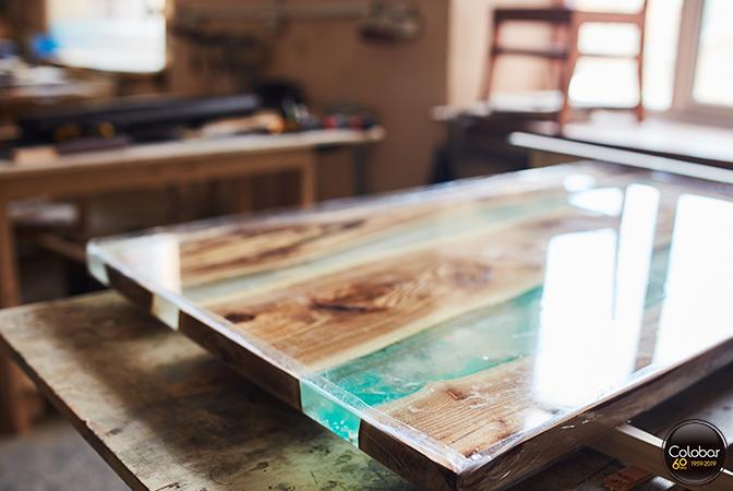 Comment Faire Une Table Riviere En Epoxy De Moulage Blog