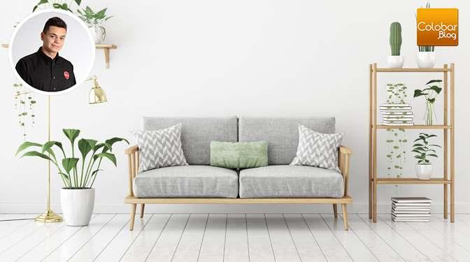 Blanchir un plancher en bois franc : Vernis Océanique coloré opaque de Blanchon